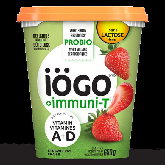 iögo yogourt ImmuniT fraise 650g