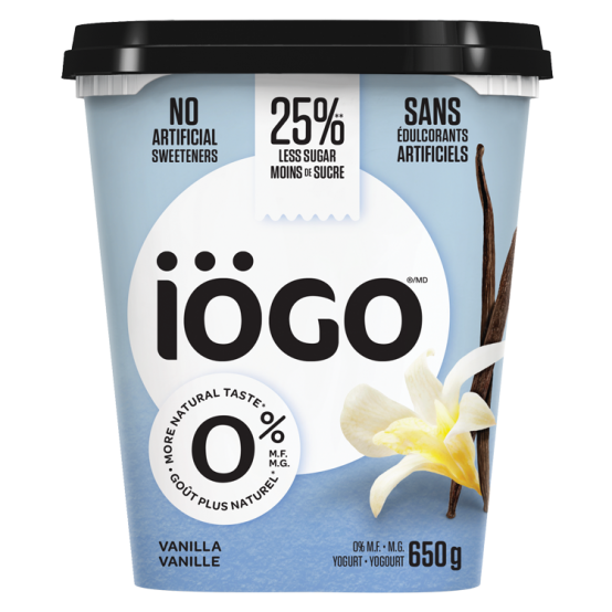 iogo 0% vanilla tub
