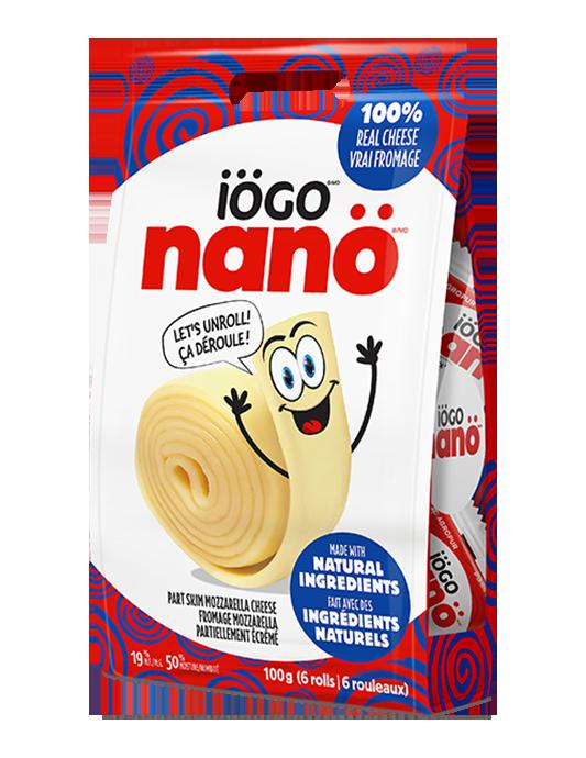 iögo nanö mozzarella cheese rolls