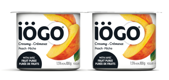 Iögo Creamy Peach Yogurt